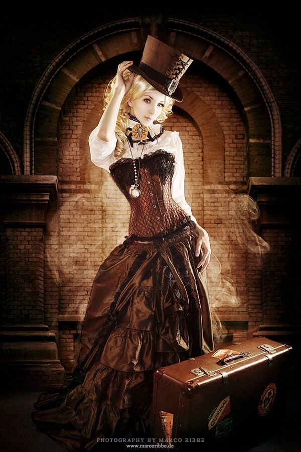Steampunk, Victorian, Airship Pirate, to Pin-Up styles.. If I ever am able to make the kind of money to buy stuff like this, it's all I would wear. I love it.