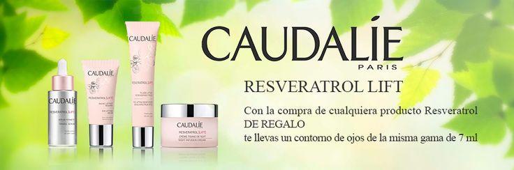 Consigue un contorno de ojos por la compra de cualquier producto de la gama #Resveratrol de #Caudalie http://www.farmachueca.com/promocion-caudalie-resveratrol-lift.html