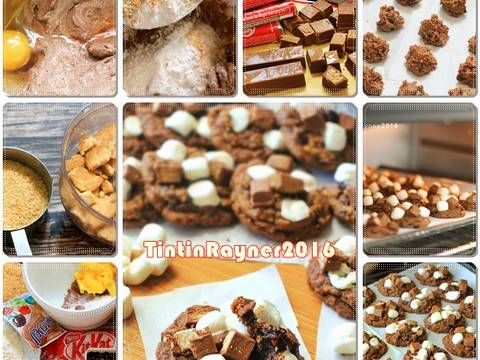 Resep S'More Pudding Cookies - Cookies Chewy&Empukkk pake Nutrijell favorit.