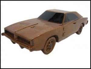 Replica 1969 Dodge Charger Made From Mahogany ... Dukes Of Hazzard!  http://blog.nobodydealslike.com/index.php/2015/07/20/breaker-breaker-get-your-replica-1969-dukes-of-hazzard-wooden-dodge-charger-on-ebay/  #DukesOfHazzard #DodgeCharger #DilawriChrysler