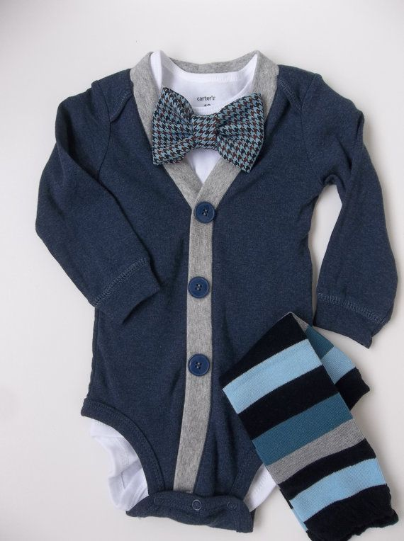 My sister says she is going to make all my future children look dapper in bow ties and sweaters... LOVE