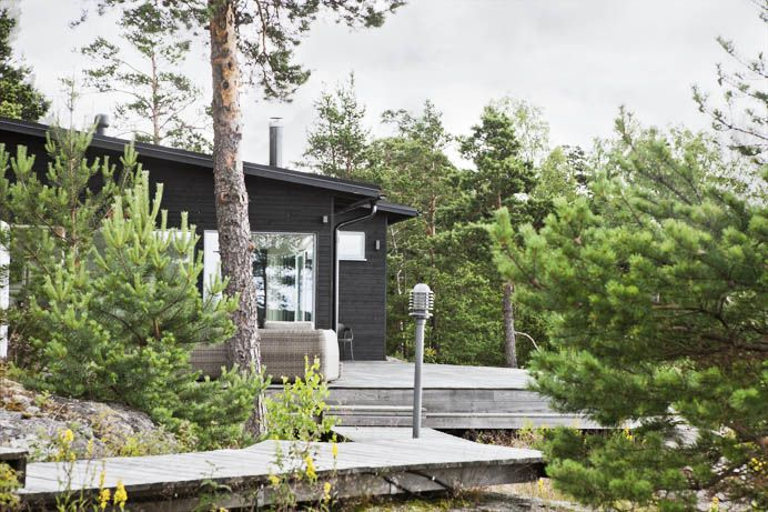Sunhouse - modern prefab homes Architect: Kalle Oikari.