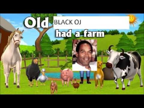 """Howard Stern - First Appearance of """"Old Black OJ"""" song parody - YouTube"""