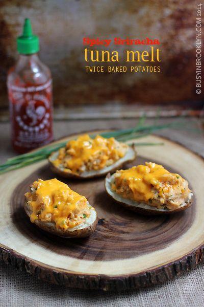 ... Tuna Melt Twice Baked Potatoes (Busy in Brooklyn) | Tuna Melts
