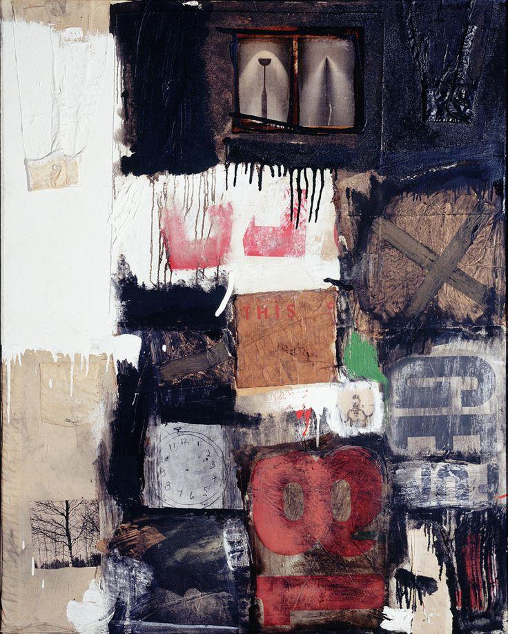 Robert Rauschenberg, American, 1925–2008   Migration, 1959