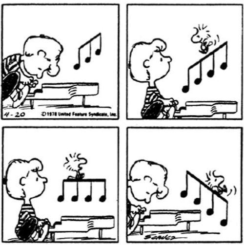 Pin Di Boulogne Day Su Snoopy Schroeder Piano Snoopy E