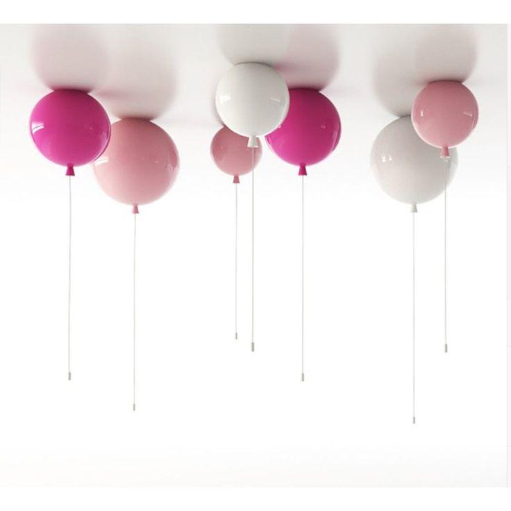 Lampy wiszące Brokis Memory w kształcie kolorowych balonów