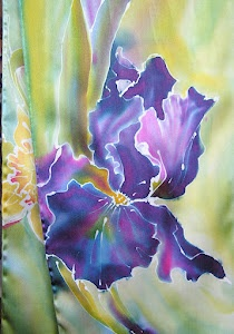 Silk Painting, shakeragallery