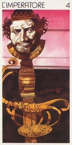 The Emperor - Tarocchi Universali di Sergio Toppi