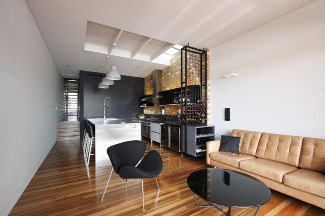 Industrial cafe vibe interior design for Rozelle terrace   http://www.designhunter.net/industrial-cafe-vibe-rozelle-terrace/