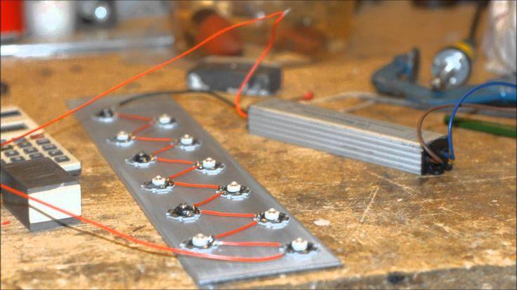 How to Make a Grow Light - LED grow light DIY