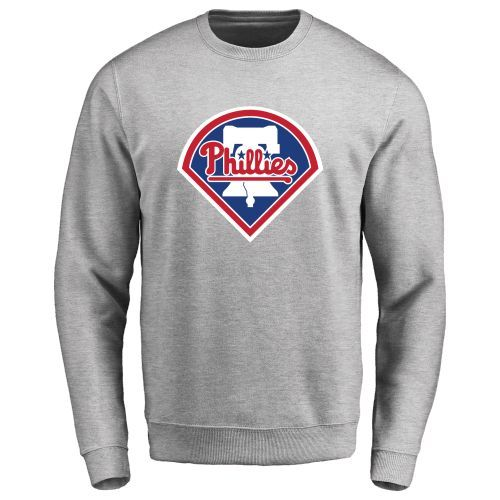 Men's Philadelphia Phillies Design Your Own Crewneck Sweatshirt