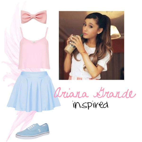 Ariana Grande Inspired outfit. ♥ For School