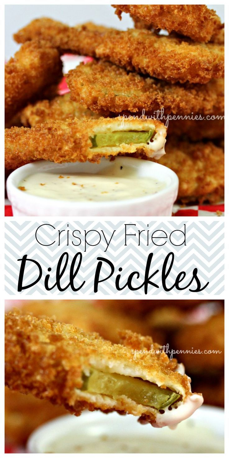 Crispy Fried Dill Pickles... this is my newest addiction! If you haven't had them, add this to your MUST try board! <3