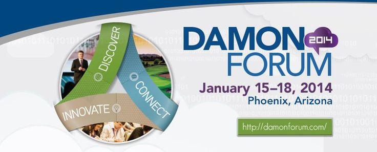 Damon Forum en Phoenix Arizona. Del 15 al 18 de enero de 2014.