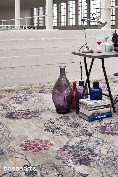 Bonaparte Vintage tapijt Hint of Colours 190.201 Blind Afgewerkt