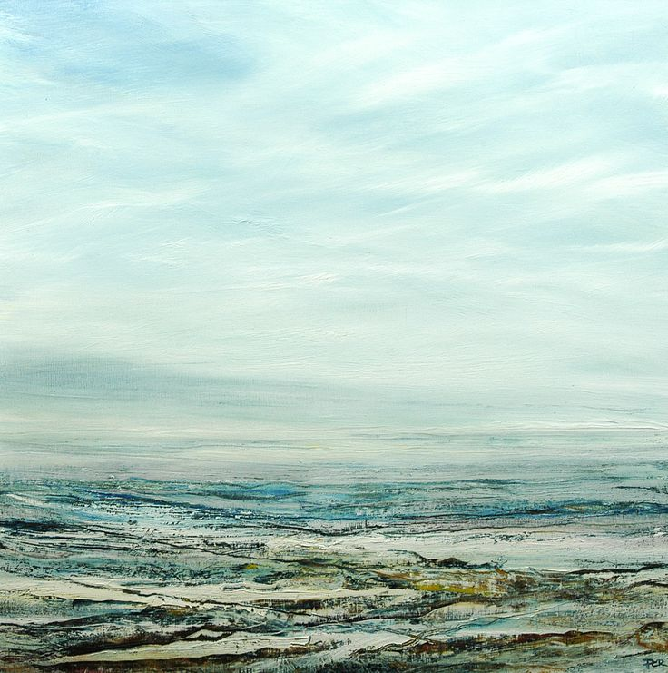 'Cold Air' Pete Rees Oil on Canvas