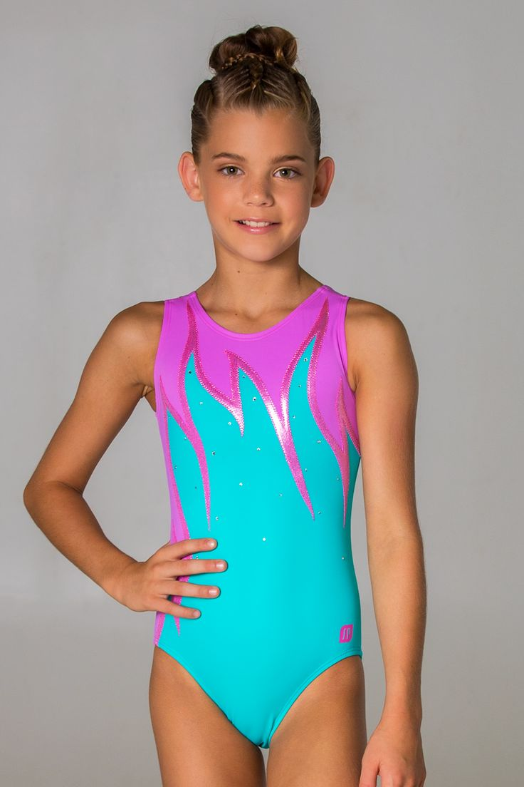 Girls gets excited leotards — pic 9