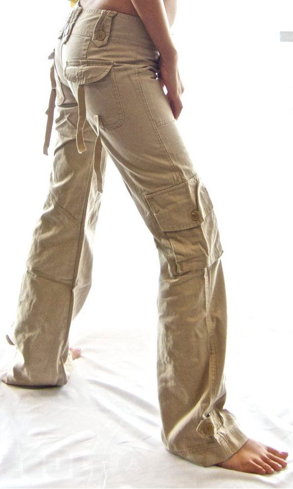 Beautiful Womens Dickies Flat Front Pants FP111 Khaki