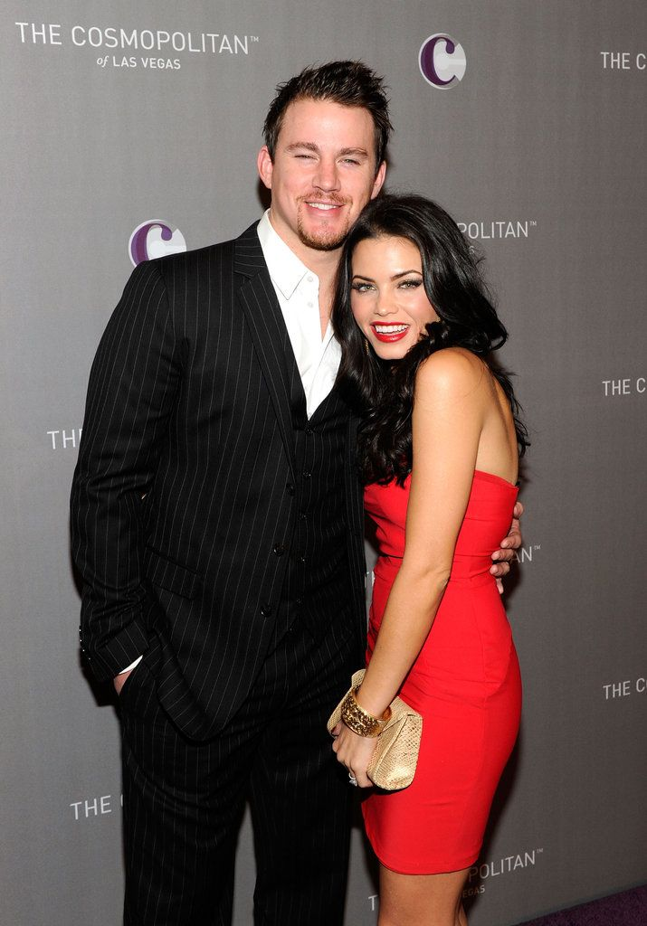 100 Hot Channing Tatum Pictures!: Channing Tatum and Jenna Dewan posed pretty before celebrating New Year's Eve 2011 in Las Vegas.