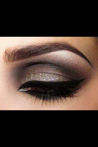Fint till bruna ögon!
