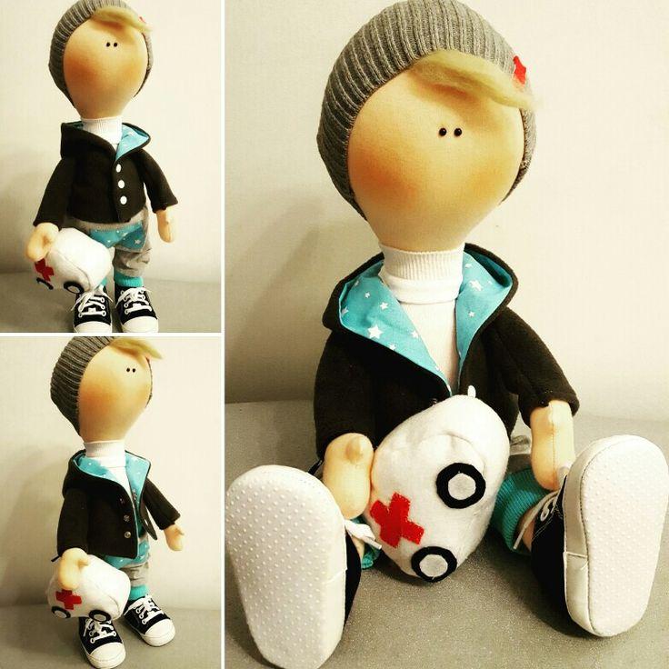 My new handmade doll - boy ❤
