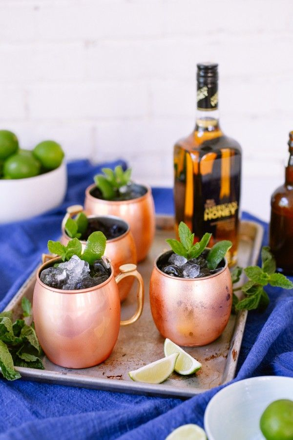 Honey Mule cocktail recipe