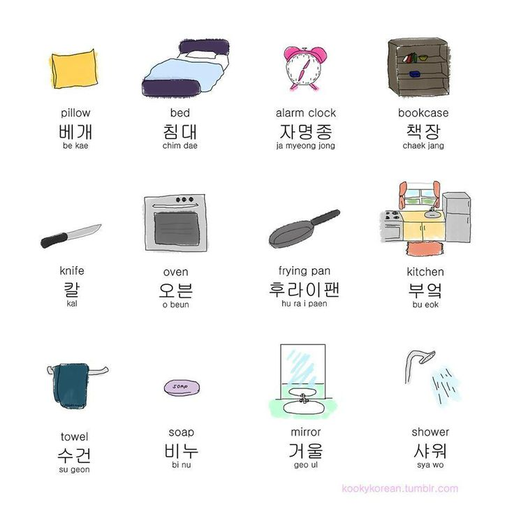 Learning Korean household