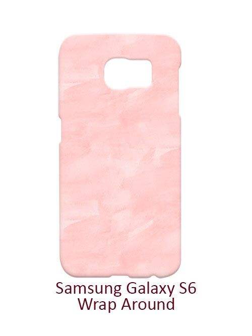Pink Watercolor Samsung Galaxy S6 Case Cover