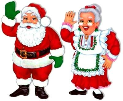 Carly's PE Games: Santa and Mrs. Claus (Christmas Tag Game)