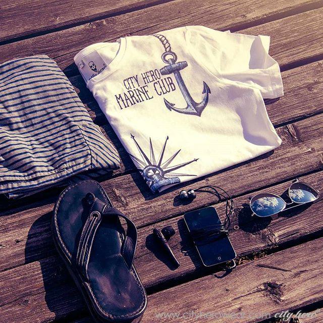 Sea conquerors' favorite design T-shirt Marine club 1,999 руб. 35,99 EUR #cityhero