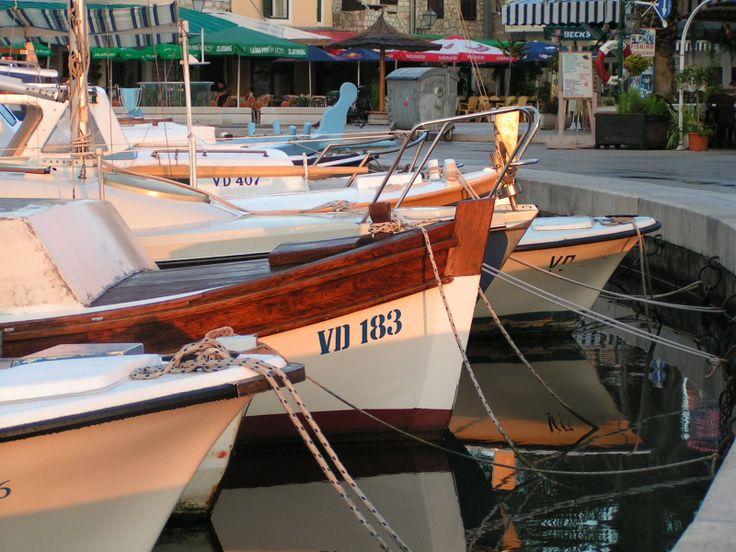 Krásný přístav v Chorvatsku - Vodice