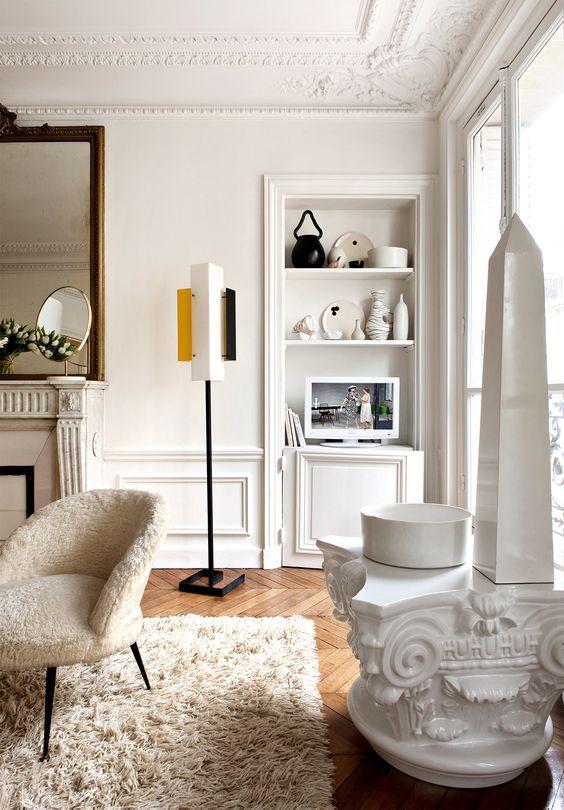 Die besten 25+ Paris wohnungsinnenräume Ideen auf Pinterest - franzosische luxus einrichtung barock design