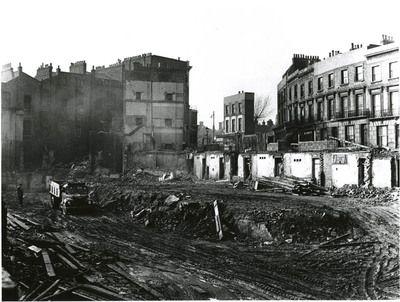 Demolishing slum properties | Woodchester Street | Paddington