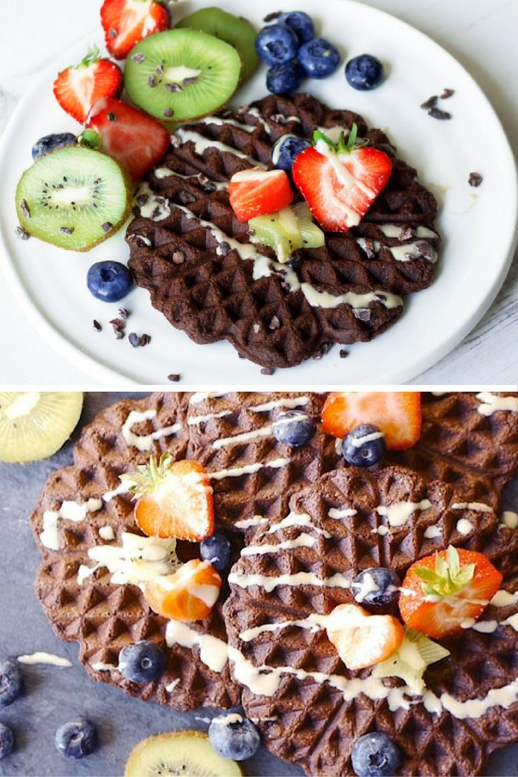 Waffles are a treat breakfast to be enjoyed on a weekend morning when you have a little more time on your hands to have a proper sit down breakfast with your family, partner or friends.  But the normal ingredients of a waffle means that vegans and people who are gluten-intolerant end up missing out on all the fun.  Here's an alternative, but equally delicious, waffle recipe that's high in fibre, high in protein, and, crucially, vegan and gluten-free!