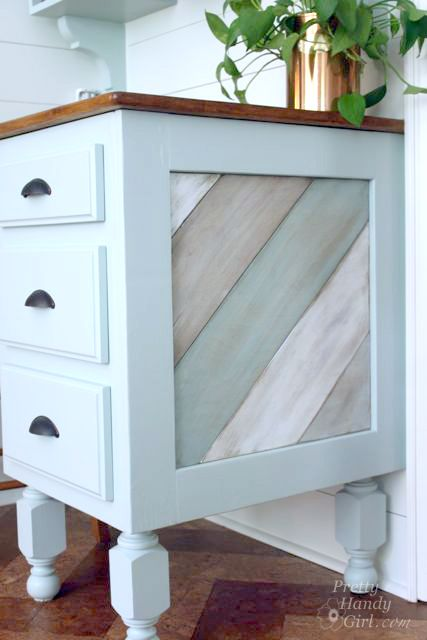 I love this cabinet panel detail, this link includes the DIY tutorial! via @pretty things things things Handy Girl