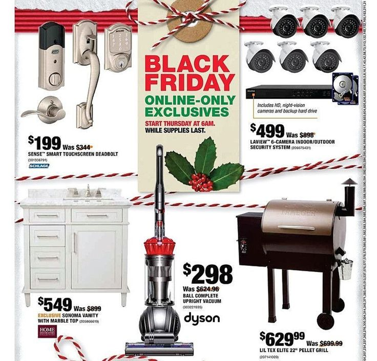 Home Depot Black Friday 2017 Ads and Deals As usual, Home Depot is one of the best Black Friday sales for huge discounts on major appliances, home improvement, tools, and gardening items. From ... #homedepot #homedepotblackfriday #homedepotblackfriday2017 #blackfriday #blackfriday2017