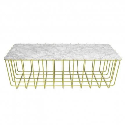 scamp large table yellow marble 3