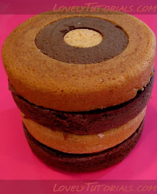 как собрать шахматный торт-how to make a checkerboard cake - Мастер-классы по украшению тортов Cake Decorating Tutorials (How To's) Tortas Paso a Paso