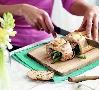 Hartig gevulde ciabatta - Recept - Jumbo Supermarkten