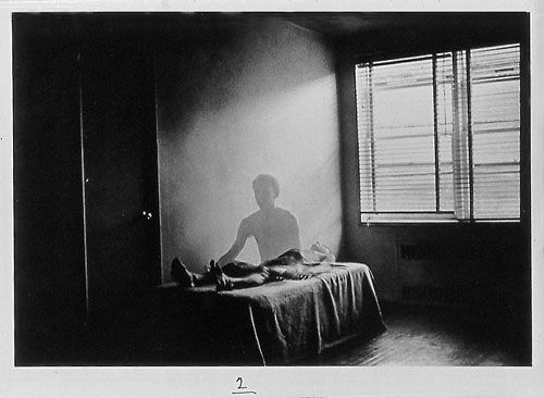 The Spirit Leaves the Body by Duane Michals