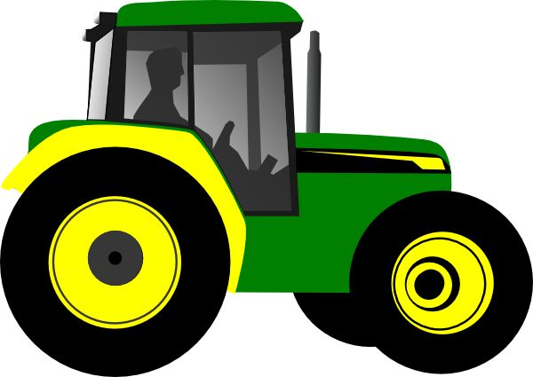 vintage tractor clipart - photo #39