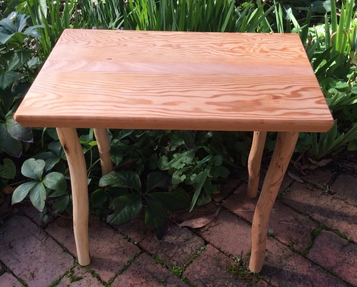 Small table by Graeme Henchel. Oregon and Mountain Ash. 2014