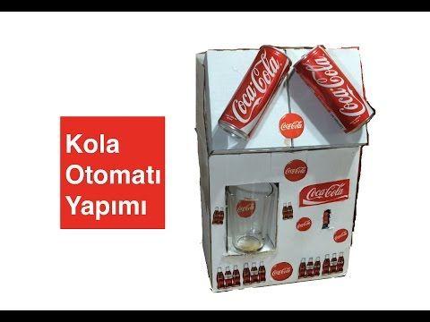 Kola Otomatı Nasıl Yapılır ? #cola #cocacola #diy #kendin yap #ev yapımı