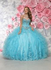 Wholesale aqua blue quinceanera dresses 2016 new beaded tulle sweet 15 ball gown 80301 http://www.topdesignbridal.net/wholesale-aqua-blue-quinceanera-dresses-2016-new-beaded-tulle-sweet-15-ball-gown-80301_p4546.html
