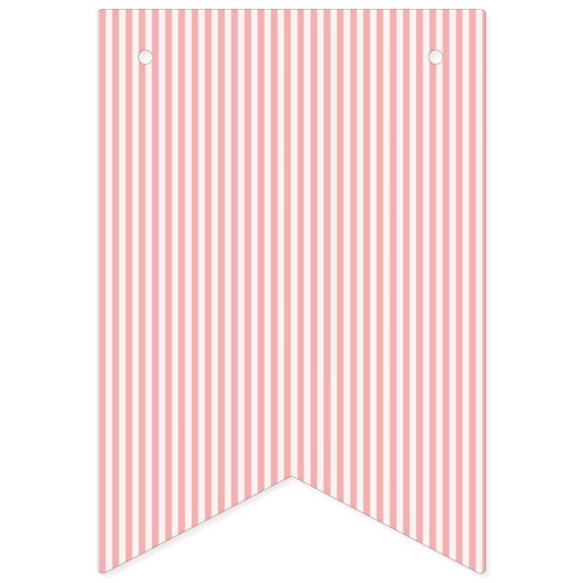 Create Your Own Bunting Banner Zazzle Com In 2021 Bunting Flags Coral Pattern Bunting Banner
