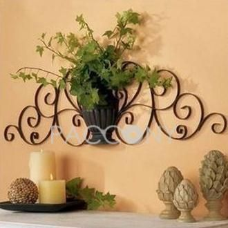 http://www.paccony.com/Wall-Decor-846/ European Wall Hanging Décor with Wrought Iron