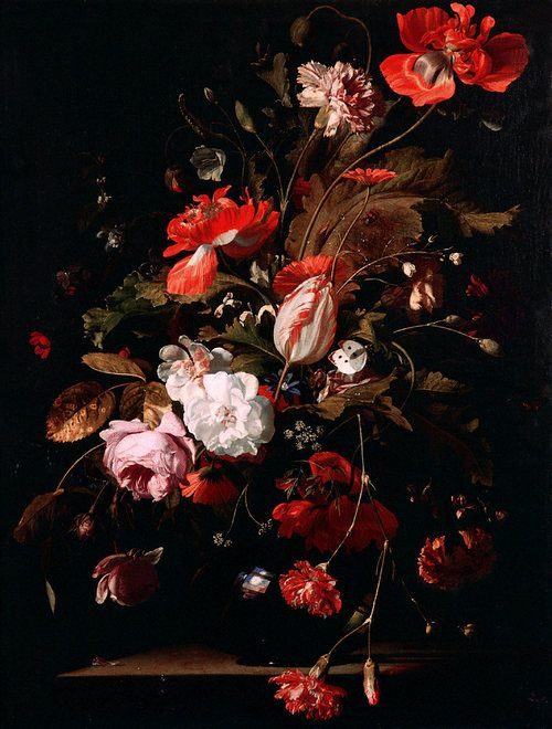 Willem van Aelst, Still-Life with Flowers, c. 1665