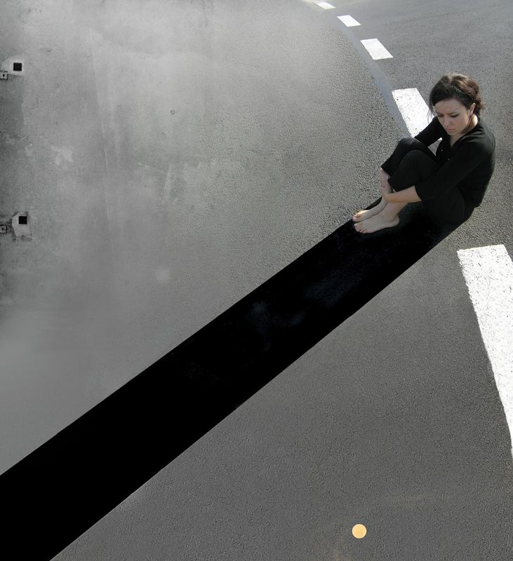 Rita Rodner 2006. Shadow, Rita Droga Rita' series.