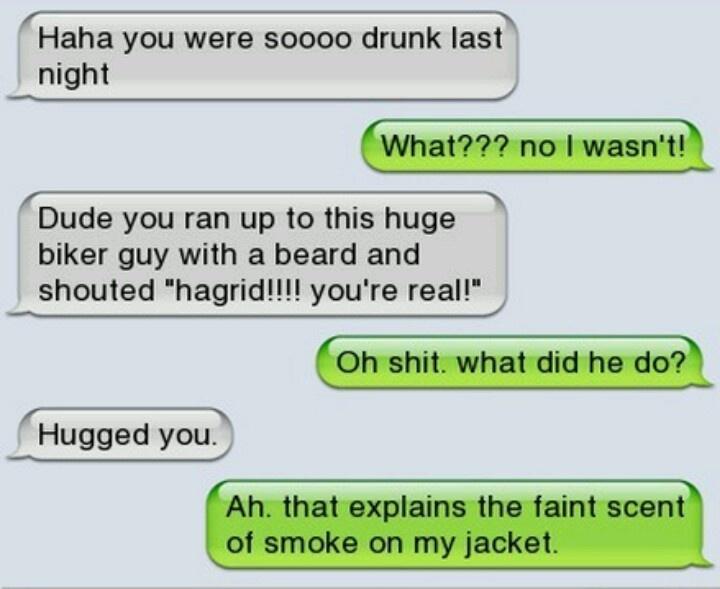 Hagrid!!! Rofl